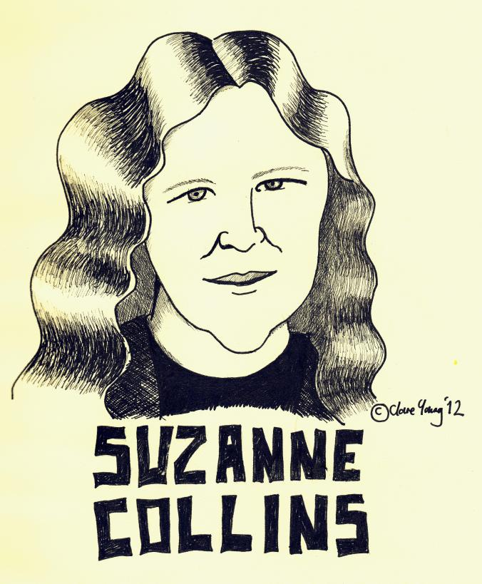 Portrait of author Suzanne Collins