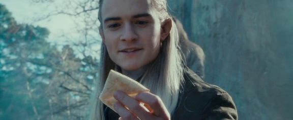 Legolas and lembas bread